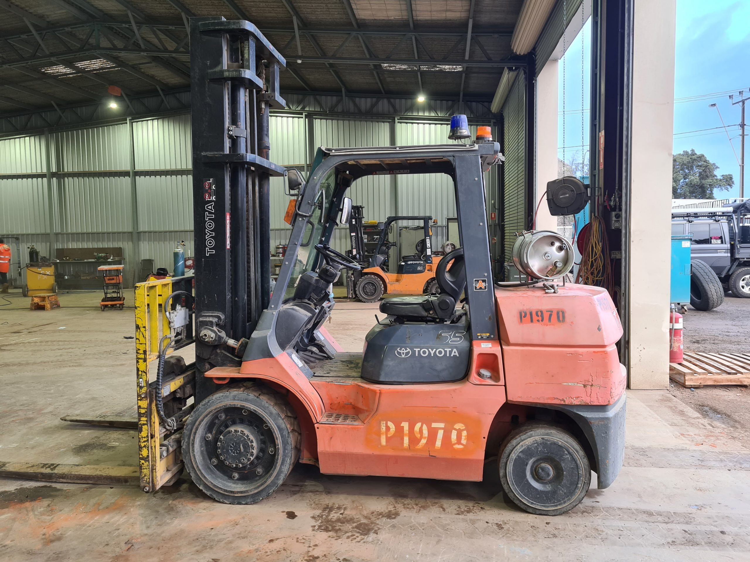 Plant Hire - Toyota Forklift